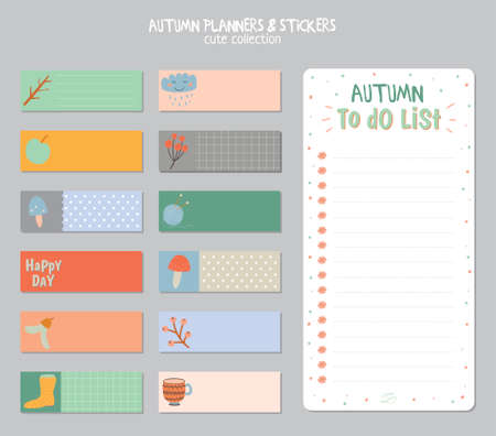 Cute Daily Calendar And To Do List Template Note Paper And – Daily Note Template