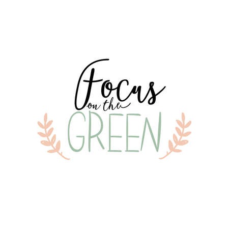Zero waste life quote. Trendy hand drawn cute lettering in scandinavian simple style. Vector. Go green