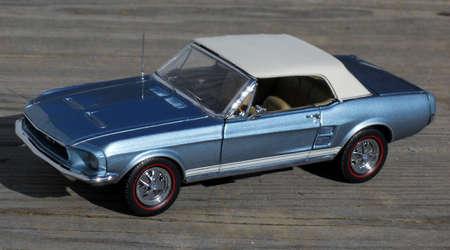 1967 AMERICAN MUSCLE CAR MODEL 版權商用圖片 - 8904530