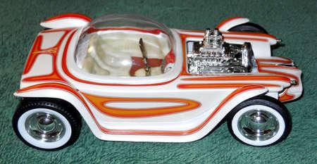 custom car: 1964 CUSTOM HOT ROD CAR MODEL Stock Photo