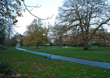 watts: A view of Watts Park in Southampton city centre during the winter.