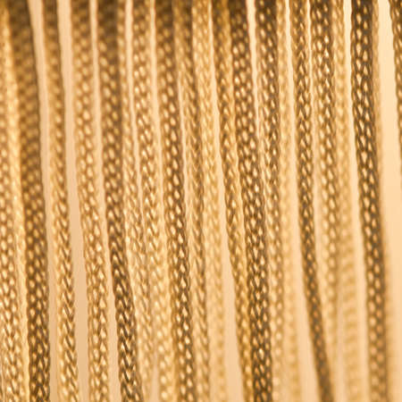 The frilly fringe from the lampshade of a standard lamp! Stock Photo - 12293001