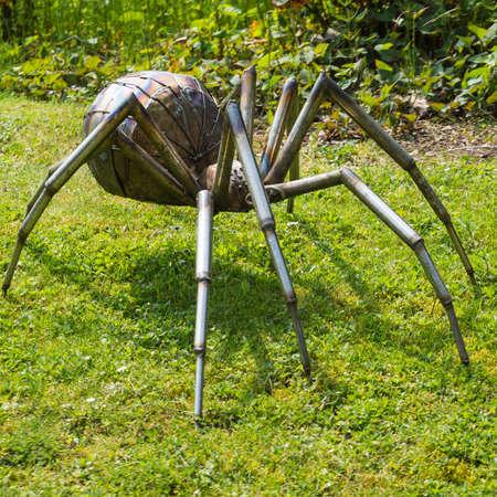 exbury: One of the creatures inhabiting Exbury Gardens