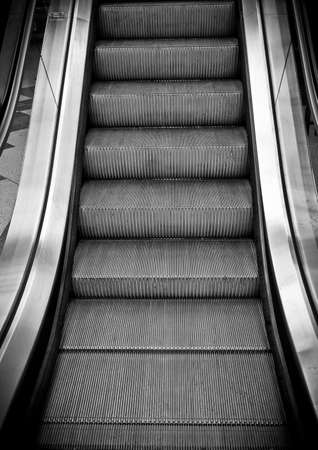 Looking Up An Moving Staircase Stock Photo   15794275