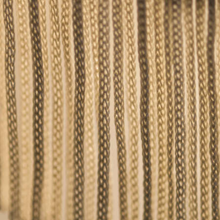 A macro shot of the fringe of a table lamp Stock Photo - 17183127