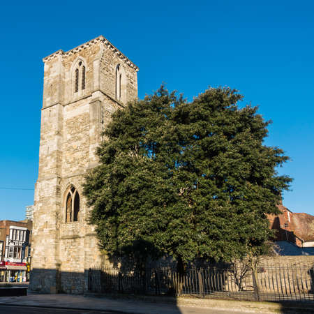 A shot of Holy Rood church in Southampton, Hampshire, UK. Stock Photo