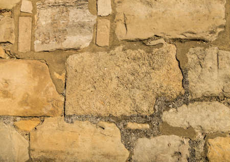 Part of the wall architecture of Holy Rood Church in Southampton, Hampshire, UK.