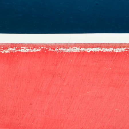 hull: An abstract shot of the hull of a ship.