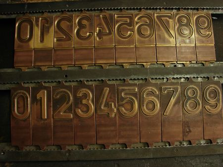 movable type  photo