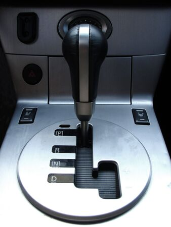 gearstick: closeup of a gear