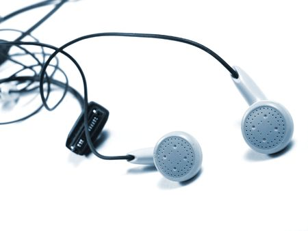 earphones excellent element for music Stock Photo - 5073632