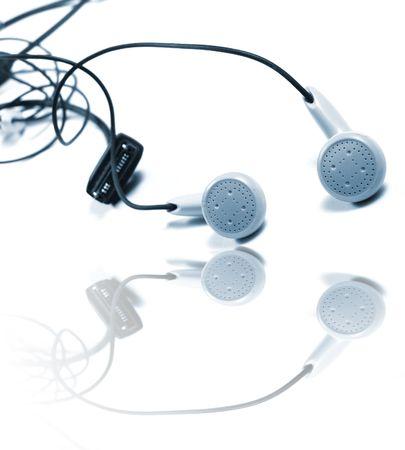 earphones excellent element for music Stock Photo - 5073637