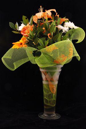 gentile: bouquet in a vase