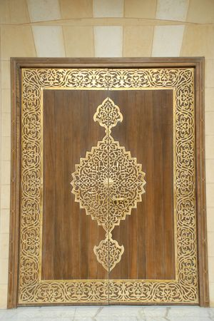 door of a mosque Stock Photo - 5064651