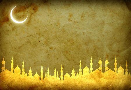 islamic calligraphy: islamic ramadan template , ramadan greeting