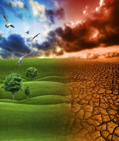 Global Warming concept  Stock Photo - 5628644