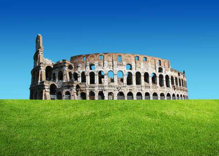 The Iconic, the legendary Coliseum of Rome, Italy  photo