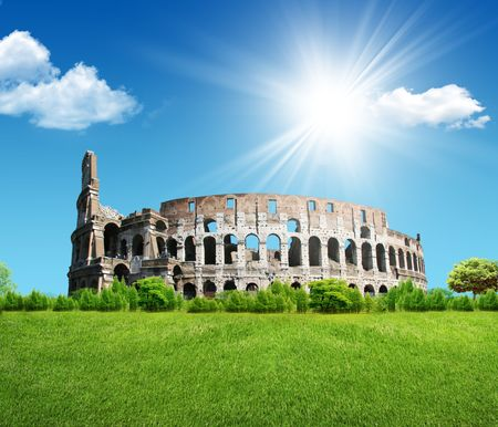 legendary: The Iconic, the legendary Coliseum of Rome, Italy