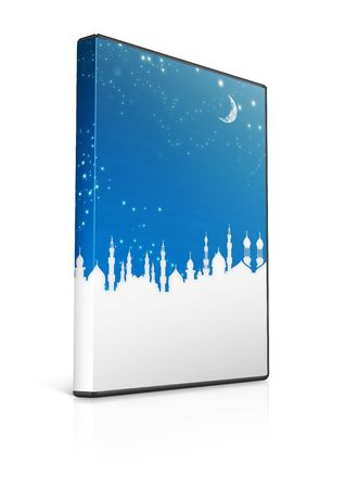 writable: dvd case with islamic theme