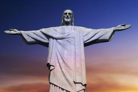 Christ Rédempteur sur le Mont Corcovado, Rio de Janeiro, Brésil sud-américaine