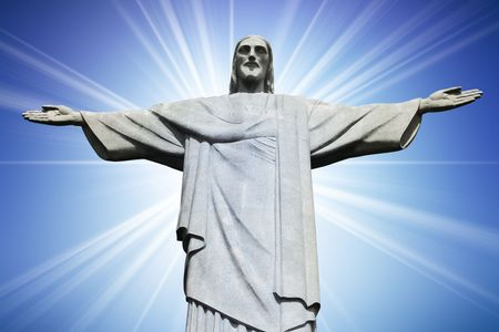 Christ the Redeemer on Corcovado Mountain, Rio de Janeiro Brazil South America  Stock Photo - 6644507