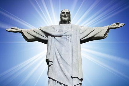 brasil: Christ the Redeemer on Corcovado Mountain, Rio de Janeiro Brazil South America