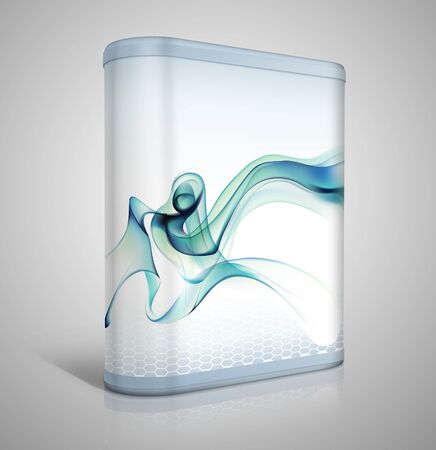 cardboard packaging: 3d software box design