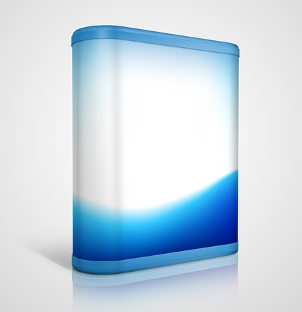 ic�ne logiciel: conception de bo�te de logiciels 3D Banque d'images