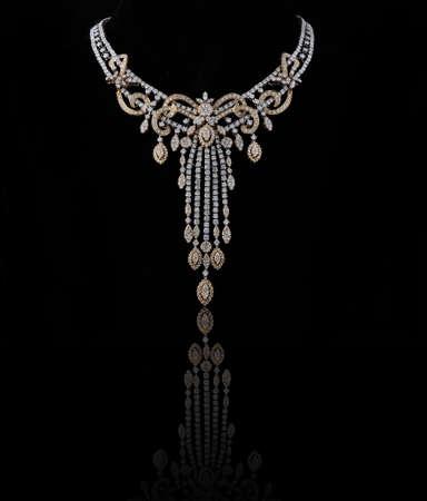 diamond necklace Stock Photo - 9686311