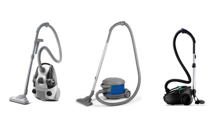set of modern vacuum cleaner Imagens - 10364202