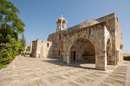 old church in byblos jubeil lebanon, Imagens - 10380774