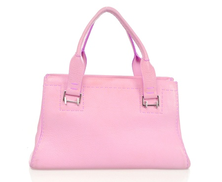 pink bag  photo