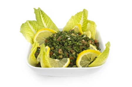 Tabouleh Stock Photo