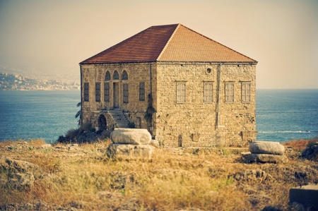lebanon: toned pic of Byblos : landmark archaeological site, inhabited since thousands of years (Lebanon)