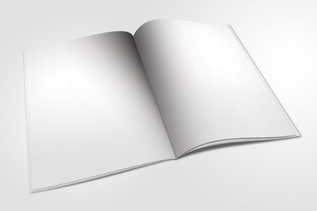 open book  isolated on white Stock Photo - 11294177