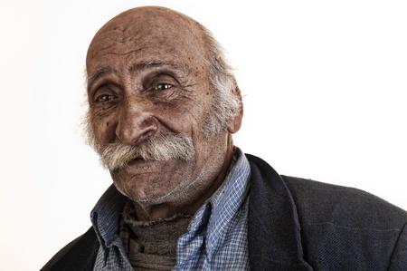 old arabian lebanese man with big mustache  Stock Photo - 13655288