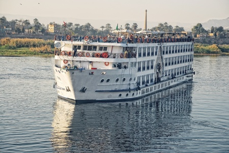 A boats on the river Nile, Egypt