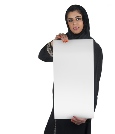 traditional islamic executive in a business presentation scene Stock Photo - 13658881