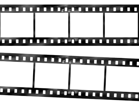 celluloid film: Film Strip Stock Photo