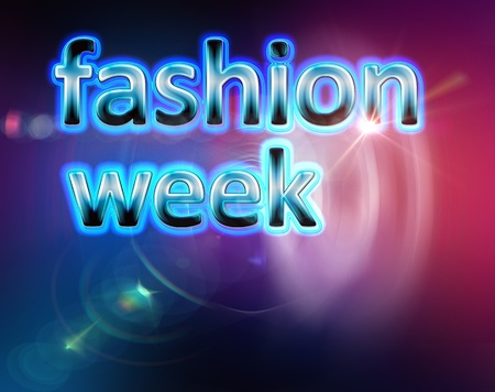 performace: fashion week background template