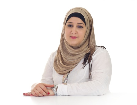 abudhabi: Arabian Business Woman Posing Stock Photo