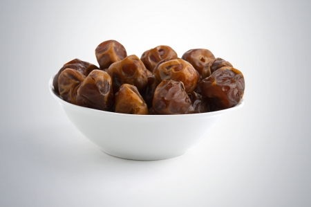 fasting: Arabian Dates served in Ramadan after fasting