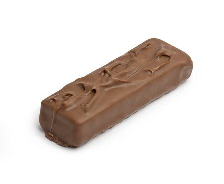 Chocolate Caramel Isolated on White Stock Photo - 16570905