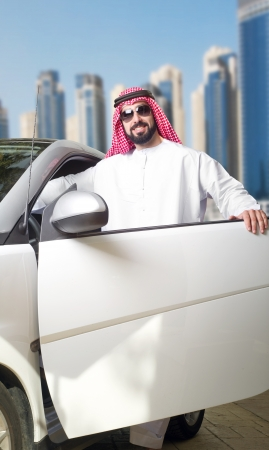 Arabian Guy in the City  Stock Photo - 16591025