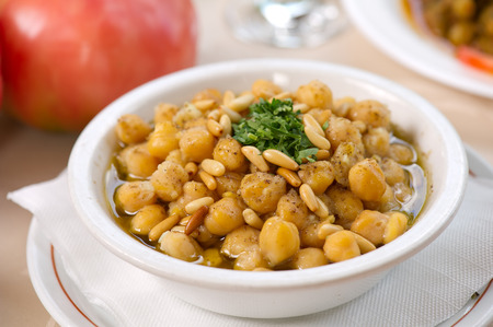 chickpea: Chickpea Soup , Traditional Chickpea plate