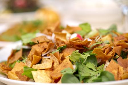 fattoush Salad , Lebanese salad photo