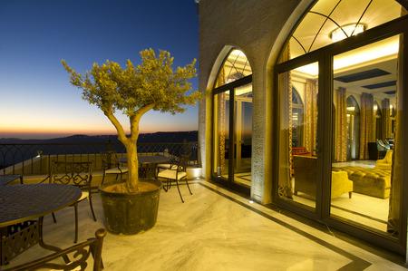 Boutique hôtel au Liban Bhamdoun Banque d'images - 33921656