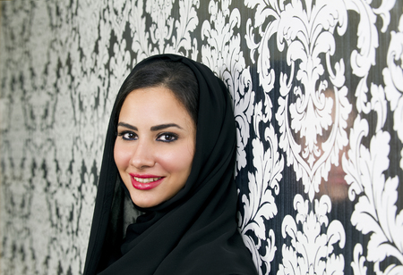 female clothing: Beautiful Confident Arabian Woman