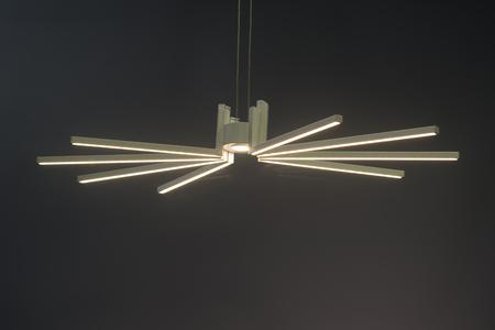lamp shade: Modern led Pendant light lamp illuminated, Elegant Chandelier illuminated