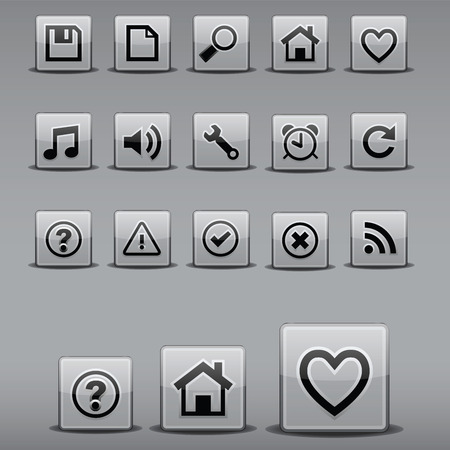 Nice and Clean Icons Çizim